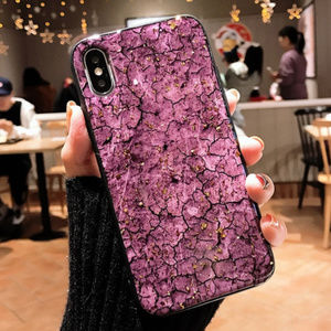 Accessories - Purple Marble iPhone Case 7 8 Plus X XS XR Max